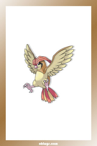 Pidgeotto iPhone Wallpaper