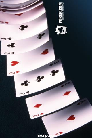 Poker iPhone Wallpaper