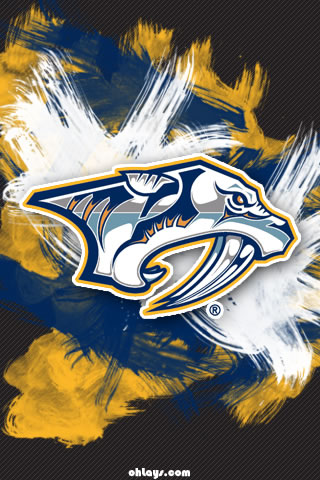 Nashville Predators iPhone Wallpaper