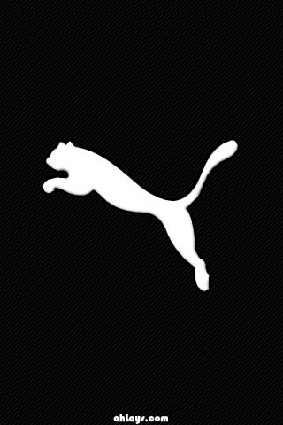 Black Puma iPhone Wallpaper