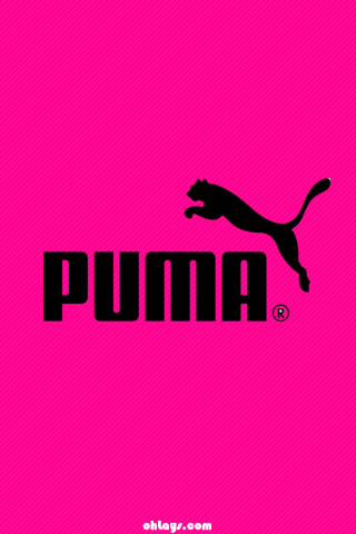 Pink Puma IPhone Wallpaper