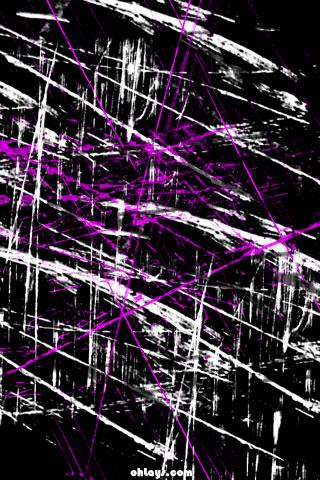 Purple Grunge iPhone Wallpaper