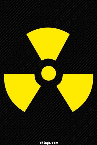 Radioactive iPhone Wallpaper