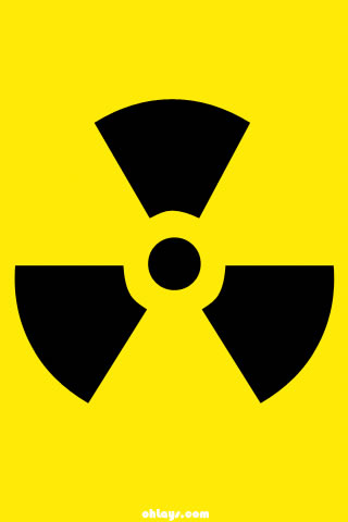 Radioactive iPhone Wallpaper