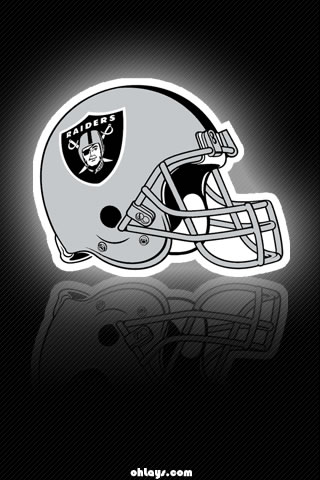 Oakland Raiders iPhone Wallpaper