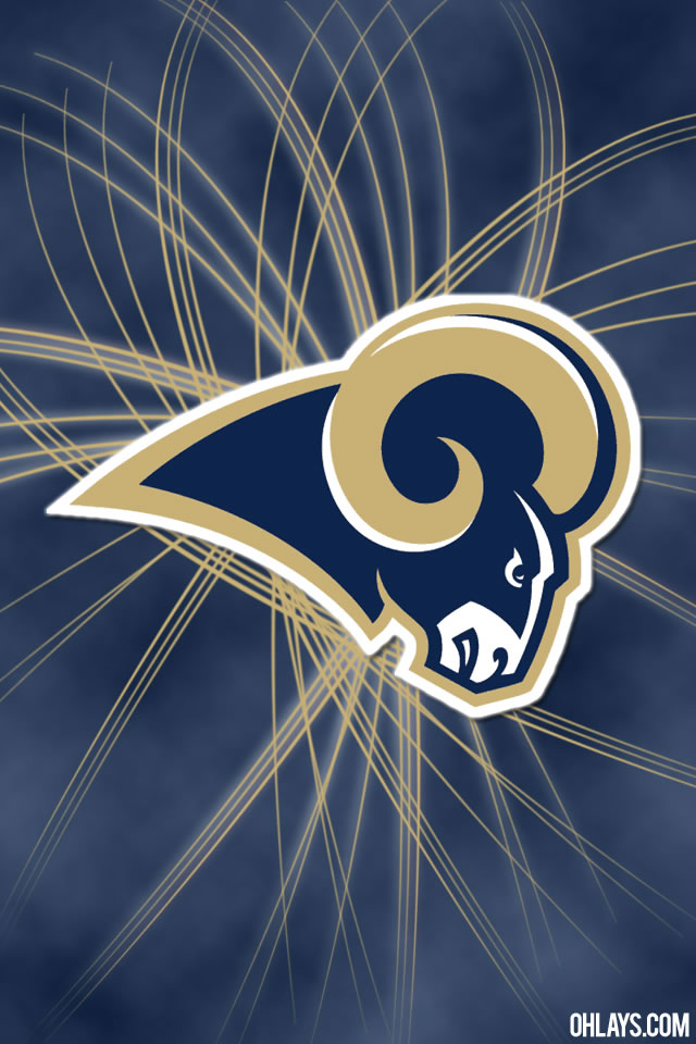 St Louis Rams iPhone Wallpaper