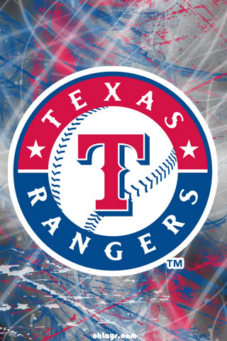 Texas Rangers iPhone Wallpaper