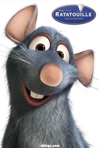 Ratatouille iPhone Wallpaper
