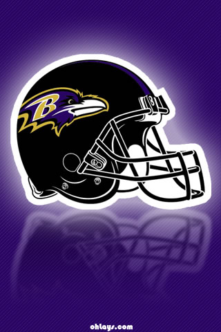 Baltimore Ravens iPhone Wallpaper