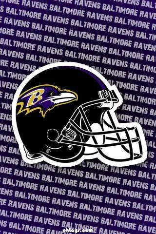 Baltimore Ravens iPhone Wallpaper