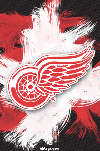 Detroit Red Wings iPhone Wallpaper
