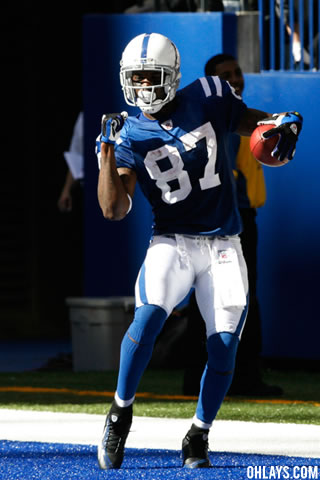 Reggie Wayne iPhone Wallpaper