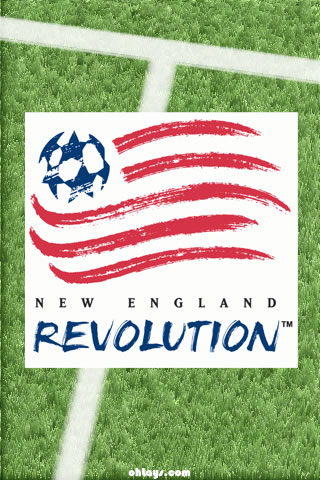 New England Revolution iPhone Wallpaper