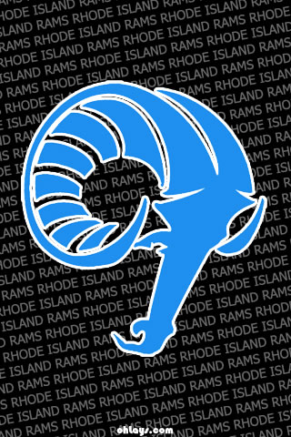 Rhode Island Rams iPhone Wallpaper