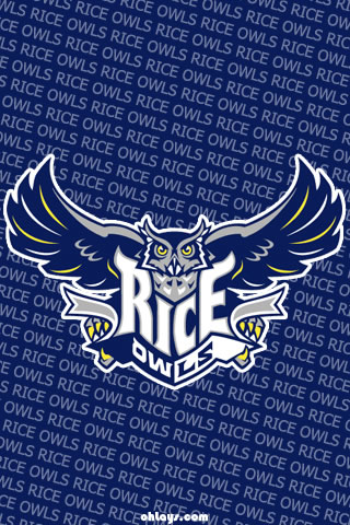 Rice Owls iPhone Wallpaper