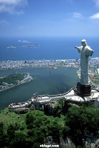 Rio De Janeiro iPhone Wallpaper  1047  ohLays