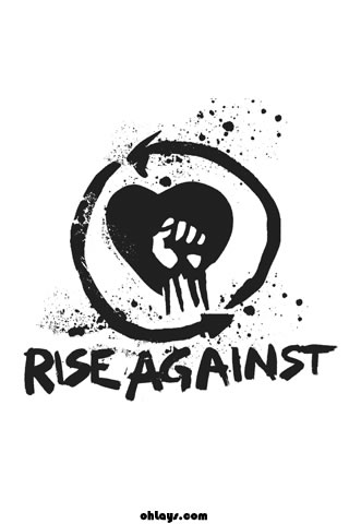 Rise Against iPhone Wallpaper