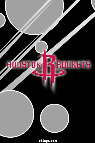 Houston Rockets iPhone Wallpaper
