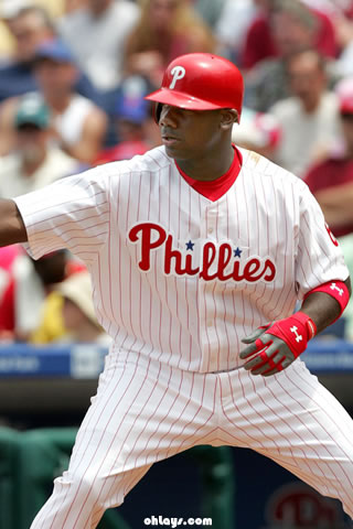 Ryan Howard iPhone Wallpaper