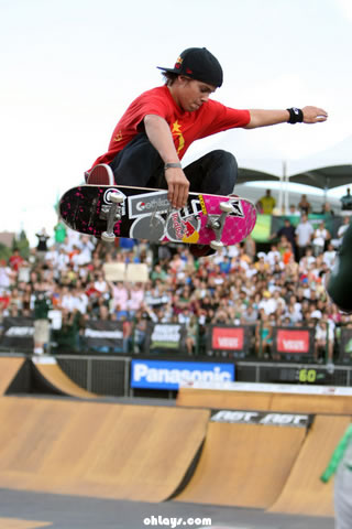 Ryan Sheckler iPhone Wallpaper