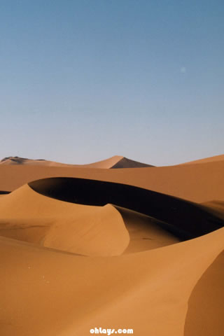 Sahara Desert iPhone Wallpaper