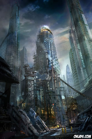 City iPhone Wallpaper