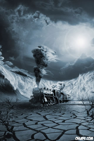 Train iPhone Wallpaper