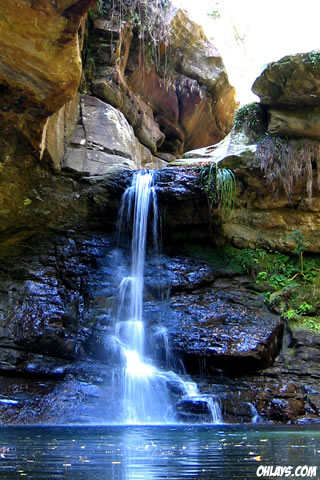 Waterfall iPhone Wallpaper   #3402   ohLays
