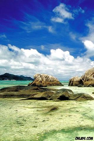 Ocean Coast iPhone Wallpaper