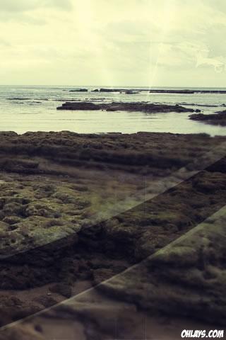 Seaside iPhone Wallpaper