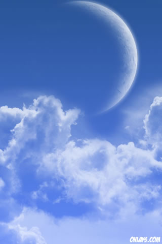 Clouds iPhone Wallpaper
