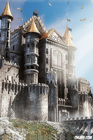 Castle iPhone Wallpaper