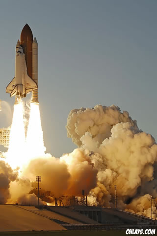 wallpaper space shuttle. Space Shuttle iPhone Wallpaper