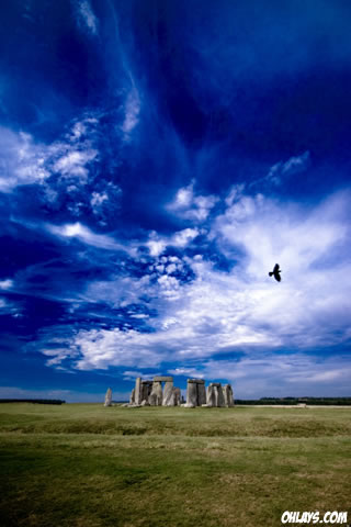 Stonehenge iPhone Wallpaper