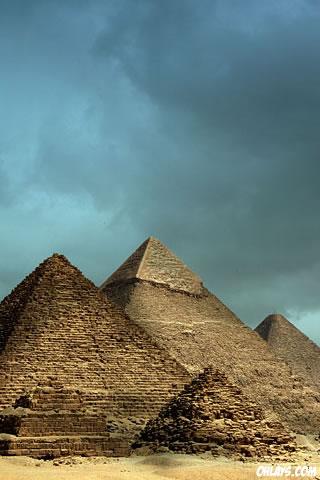 Pyramids iPhone Wallpaper