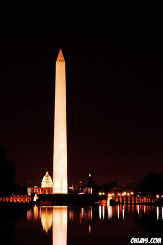 Washington Monument iPhone Wallpaper