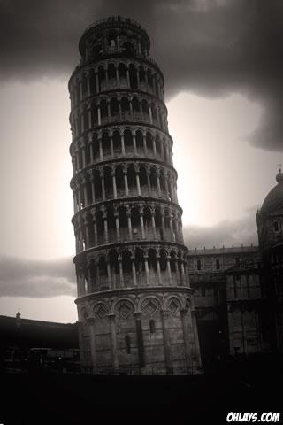 Pisa iPhone Wallpaper