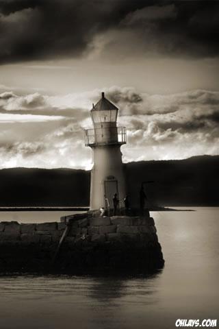 Lighthouse iPhone Wallpaper