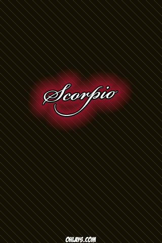 Scorpio iPhone Wallpaper