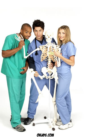 Scrubs iPhone Wallpaper