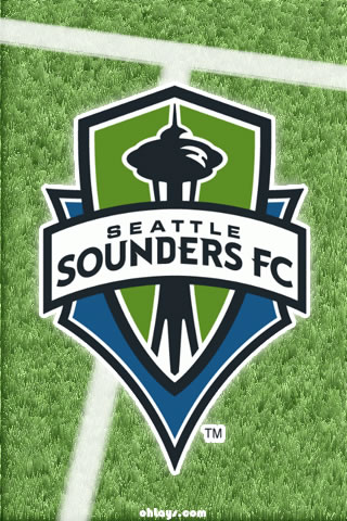 Seattle Sounders iPhone Wallpaper
