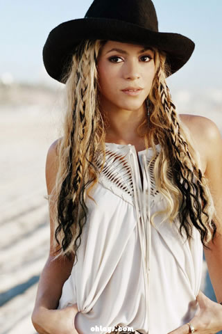 wallpaper shakira. Shakira iPhone Wallpaper