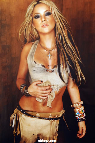 Shakira iPhone Wallpaper