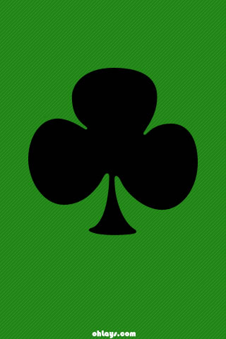 Shamrock iphone wallpaper 346 ohlays shamrock iphone wallpaper voltagebd Image collections
