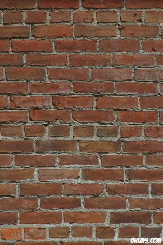 Brick iPhone Wallpaper