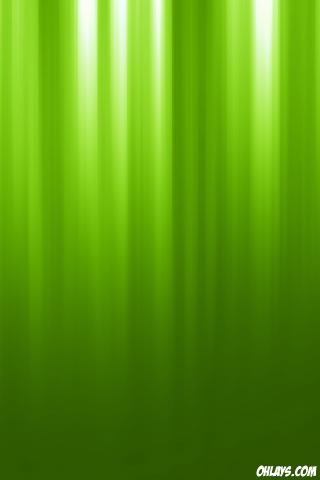 Green Stripes iPhone Wallpaper