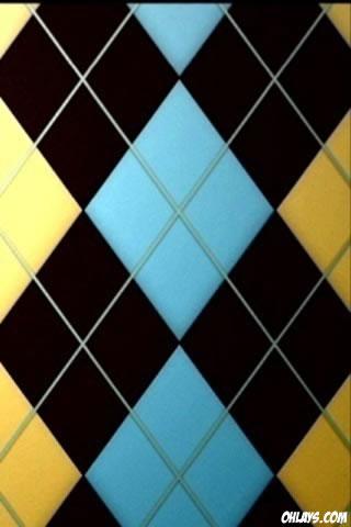 Argyle iPhone Wallpaper