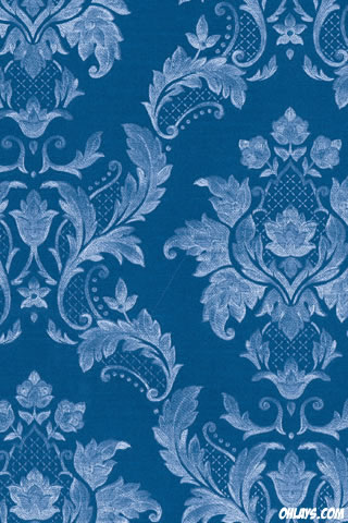 Blue Pattern iPhone Wallpaper