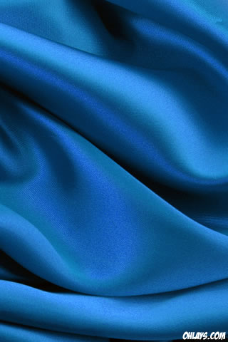 Blue Fabric iPhone Wallpaper