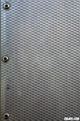 Diamond Plate iPhone Wallpaper